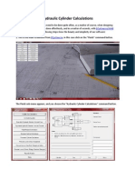 hydraulic cylinder design calculations pdf
