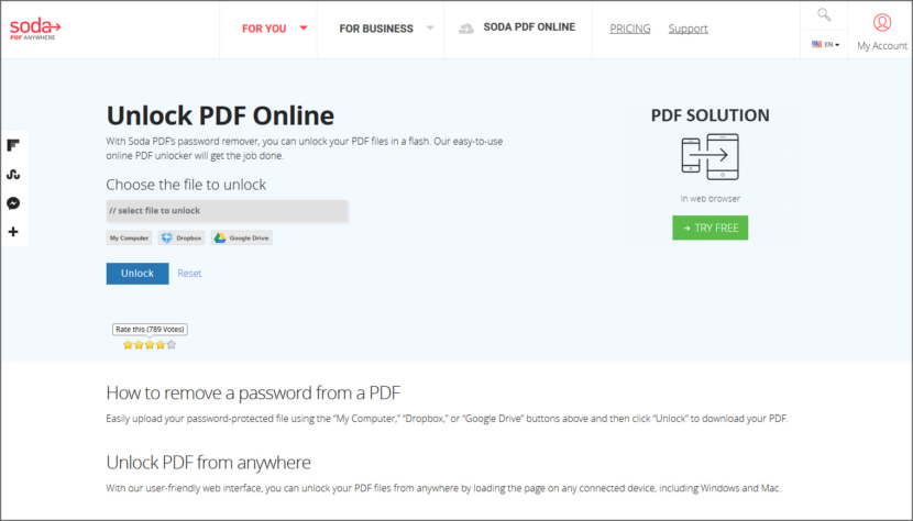 how to enable copy in secured pdf