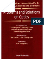 problems and solutions on optics by yung kuo lim pdf