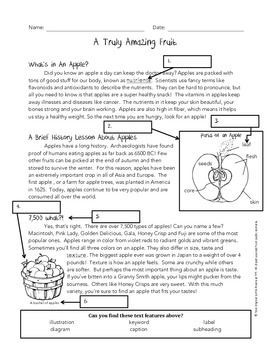 informational passage about college life pdf