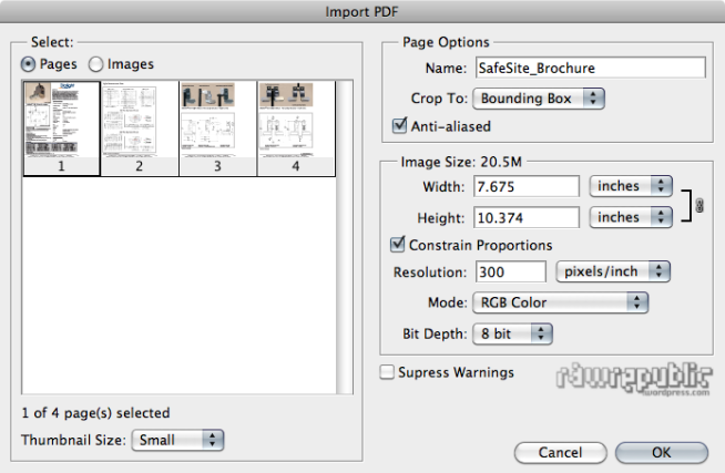 how to make multiple web pages to pdf