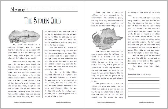 short stories for childrens in english pdf