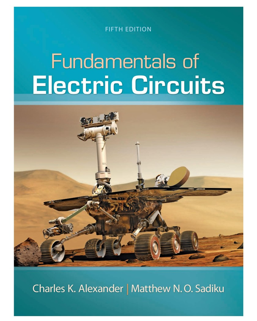 alexander sadiku fundamentals of electric circuits 5th edition solutions pdf