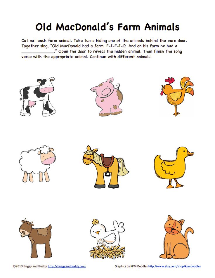 farm animals for grade 3 pdf