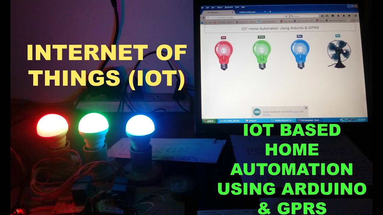 internet of things projects pdf