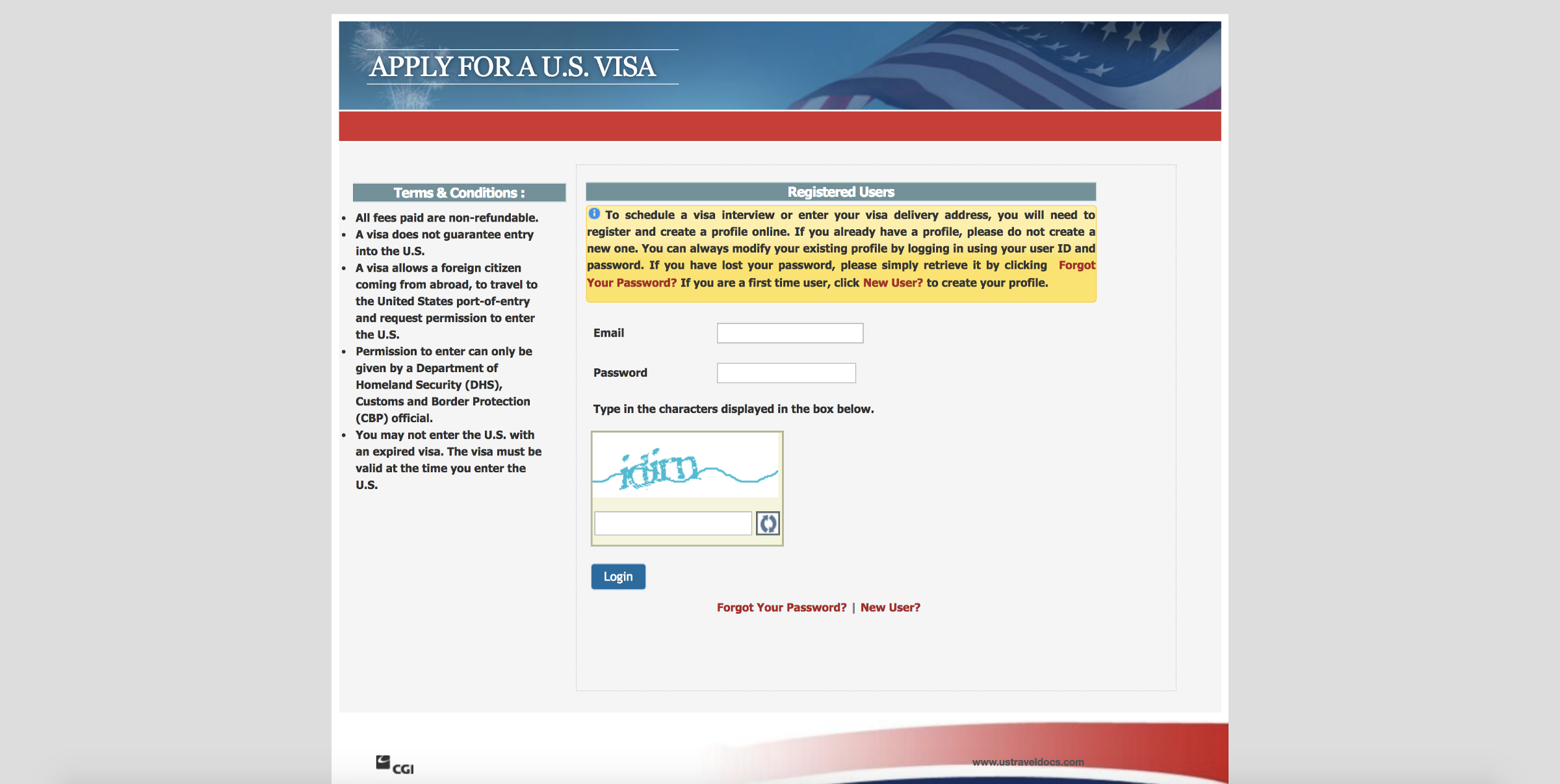 online nonimmigrant visa application ds 160 login