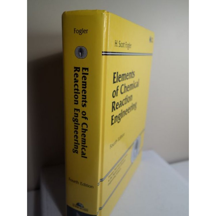 elements of chemical reaction engineering 4th edition h.scott fogler pdf