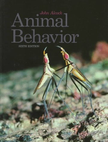 animal behaviour john alcock 8th edition pdf free