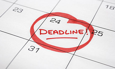 what is a rolling application deadline