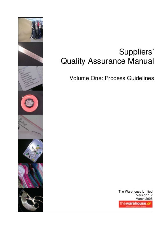 for what problems we use assurance manual