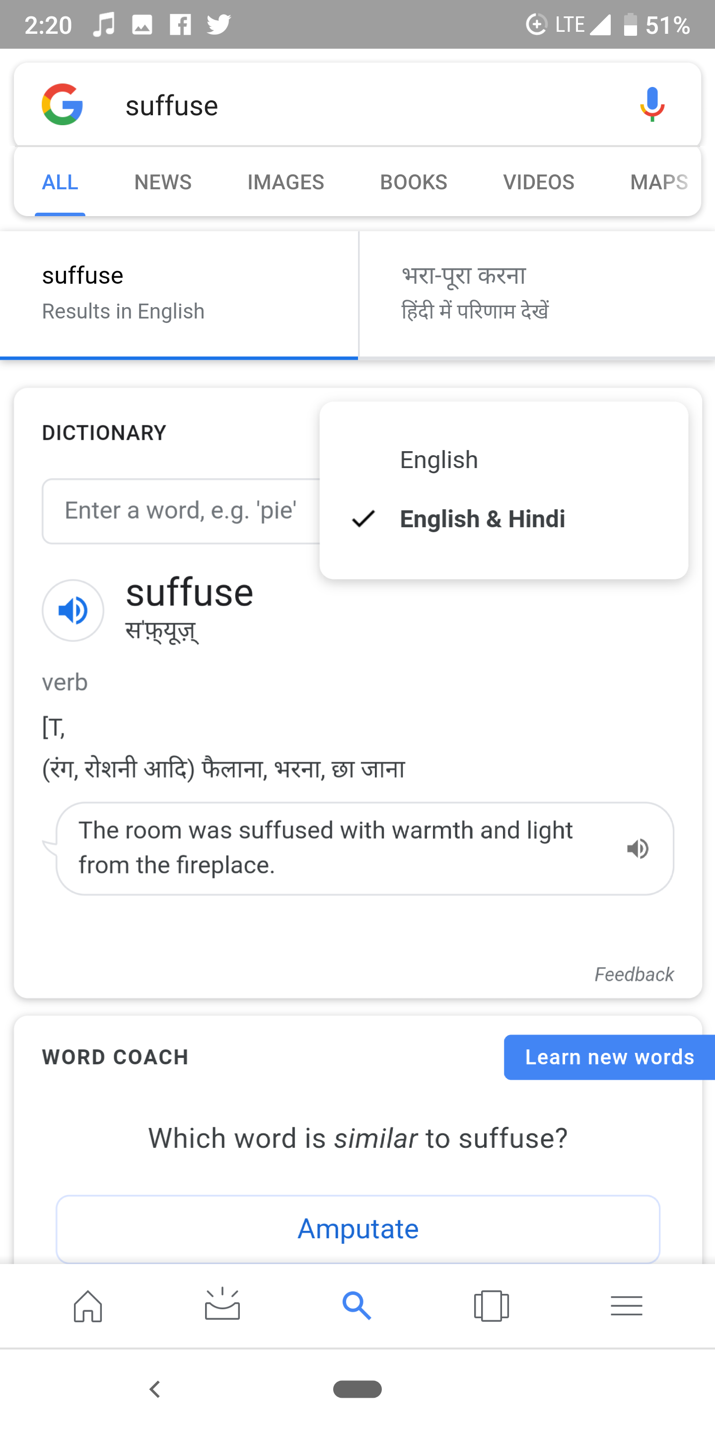google dictionary english to english