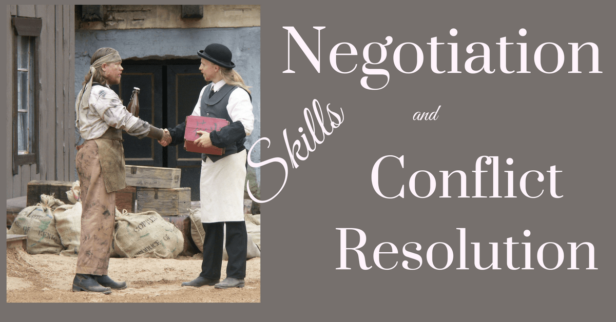 negotiation and conflict resolution pdf